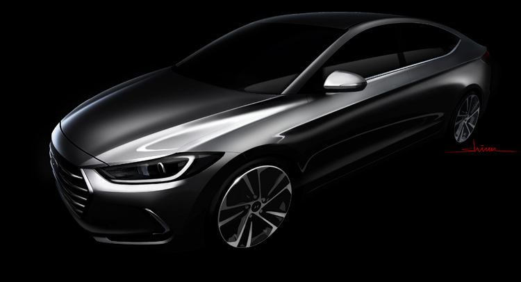 2016 Hyundai Elantra Sketch