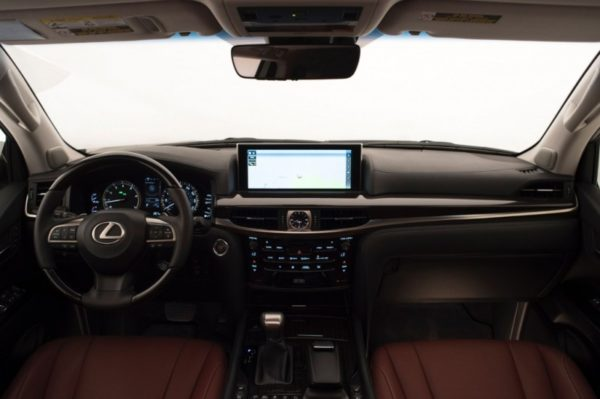 2016 Lexus LX570 Interior