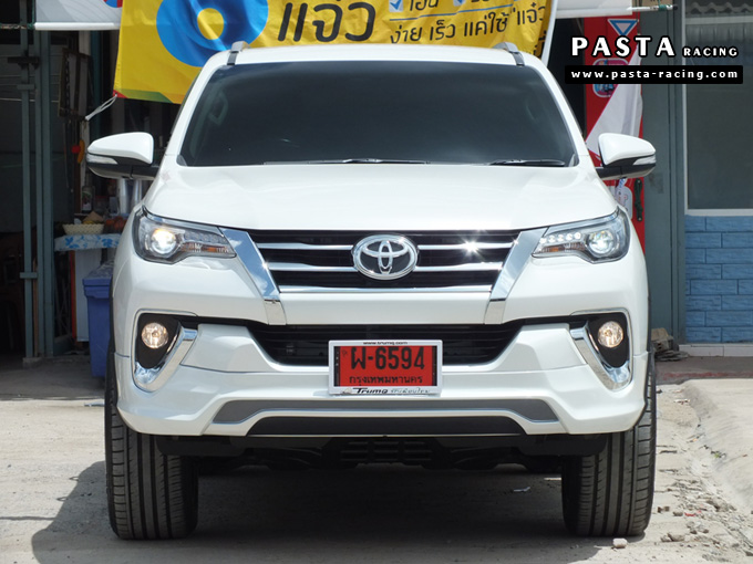 Thailand 2016 Toyota Fortuner With Custom Bodykit Looks