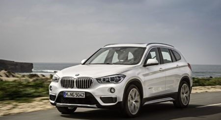 New 2016 BMW X1 Imported into India for testing