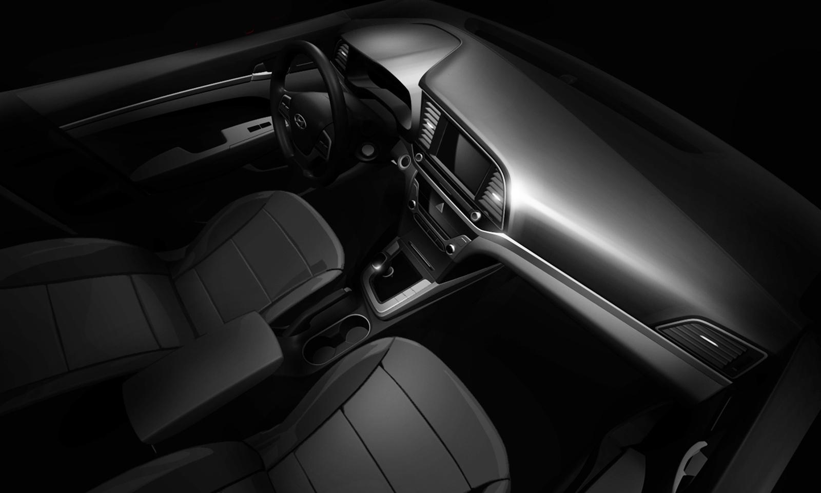 India Bound 2017 Hyundai Elantra Spied Undisguised Interiors Revealed Motoroids