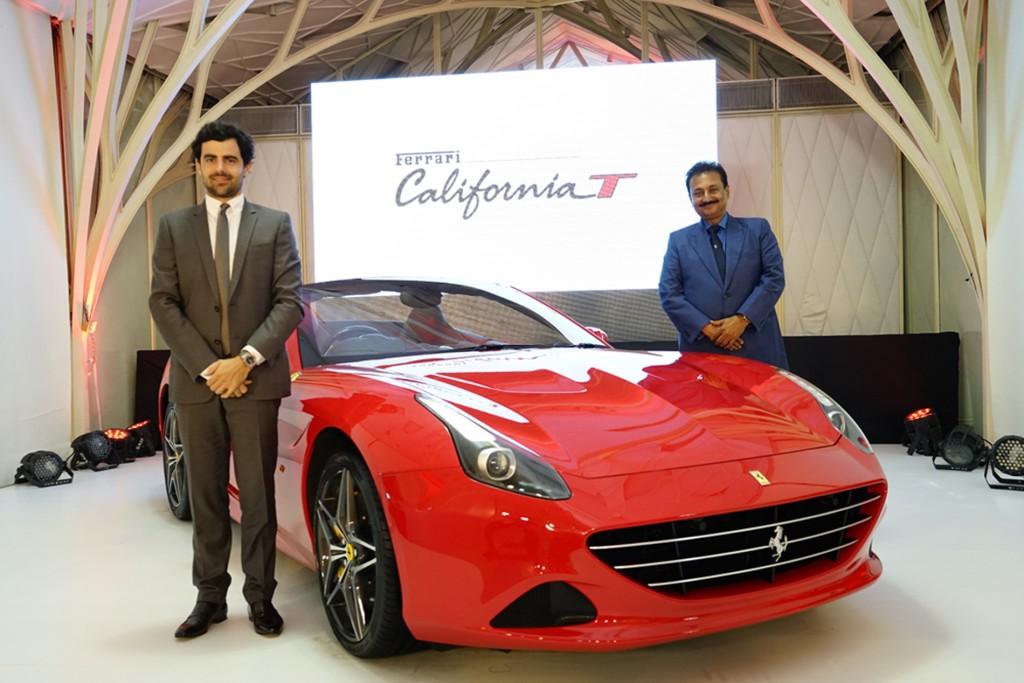 Aurelien Sauvard, International Sales Director, Ferrari - India and Mr. Sharad Kachalia, Director, Navnit Motors Private Limited