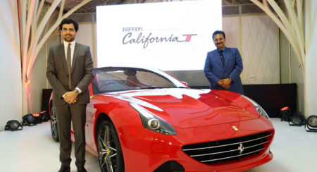 Aurelien Sauvard, International Sales Director, Ferrari - India and Mr. Sharad Kachalia, Director, N