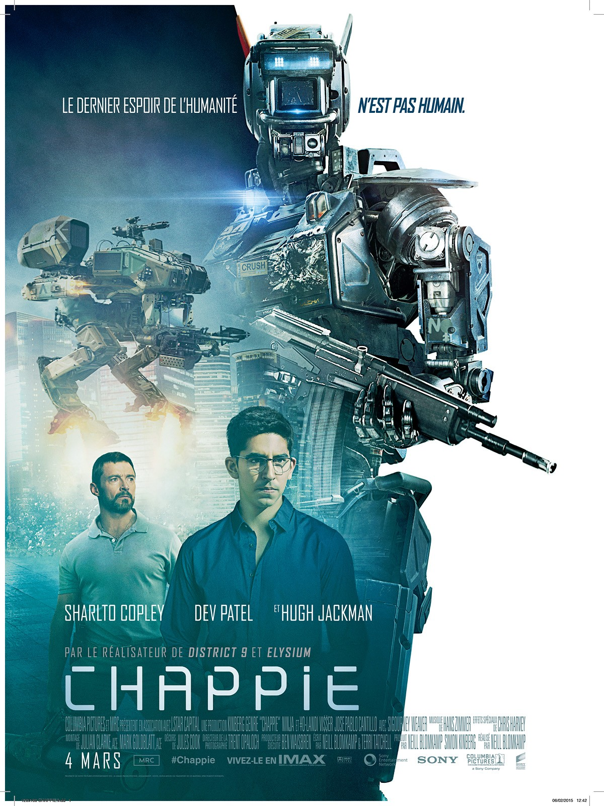 Chappie movie Triumph Tiger Explorer