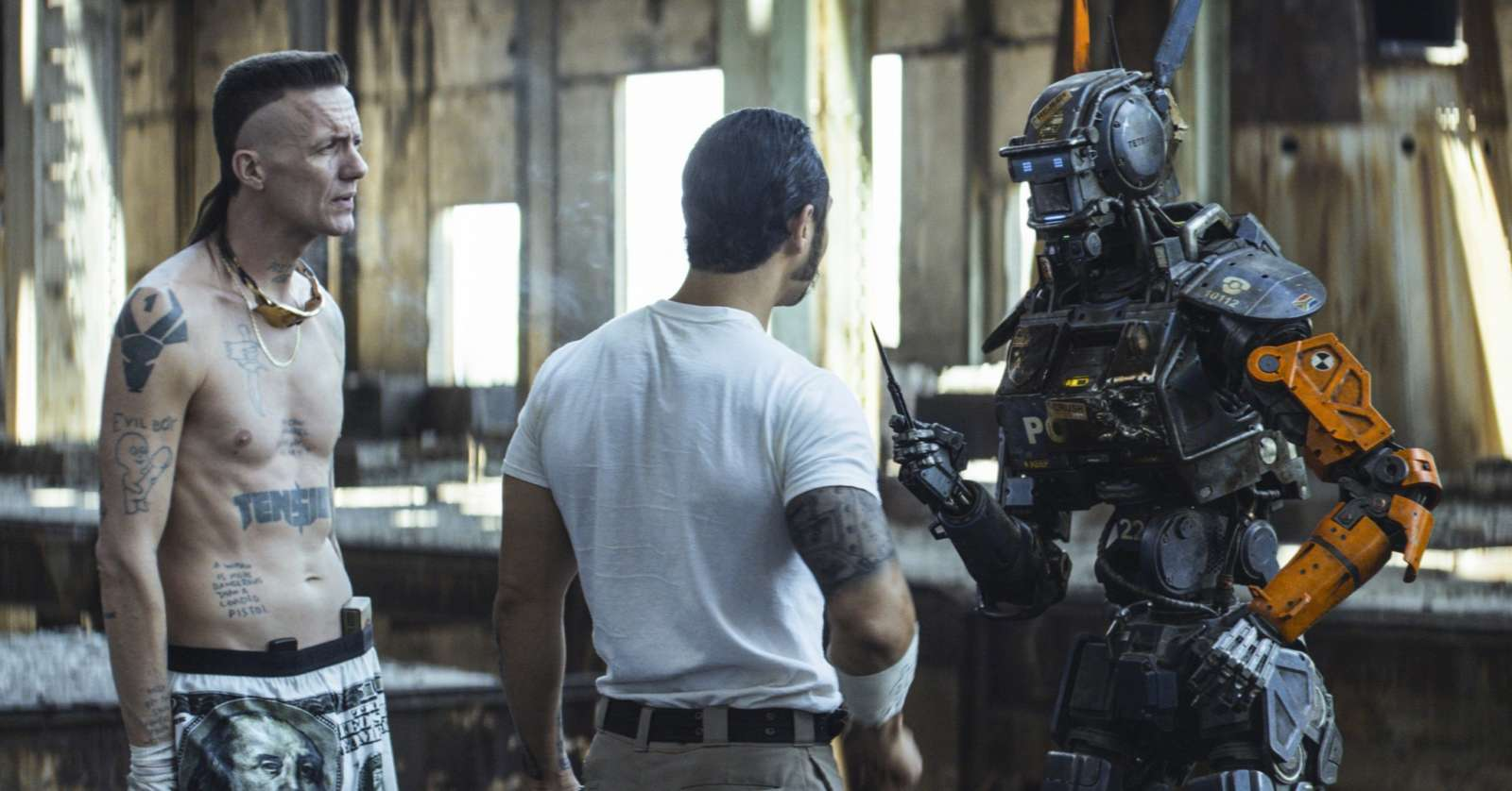 Chappie movie character