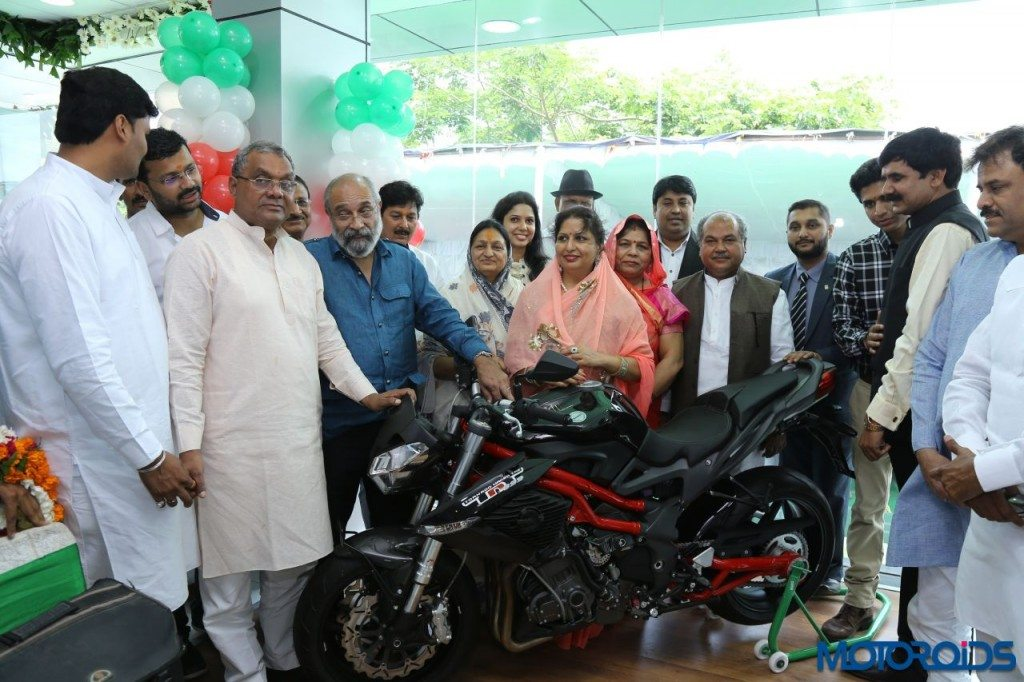 DSK Benelli launches its first exclusive showroom in