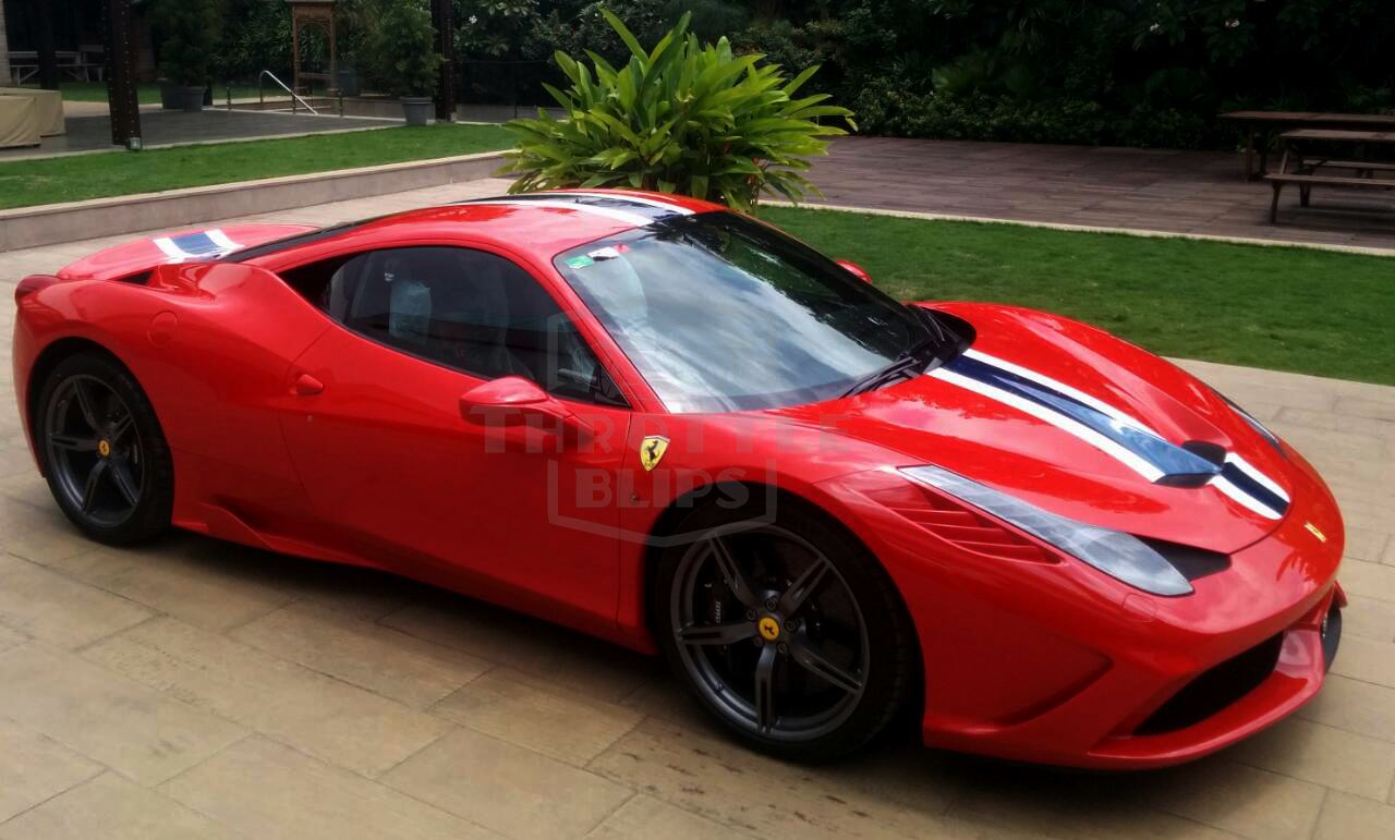 India S First Ferrari 458 Speciale Is Here Motoroids
