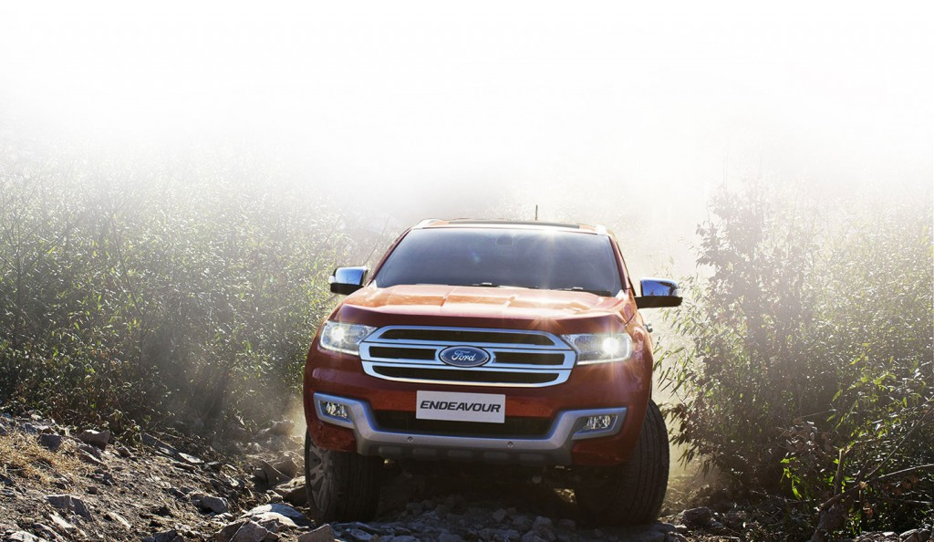 Ford Endeavour India Website - 2