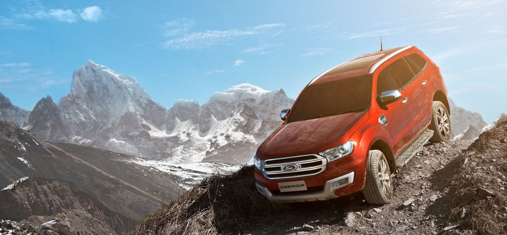 Ford Endeavour India Website - 3