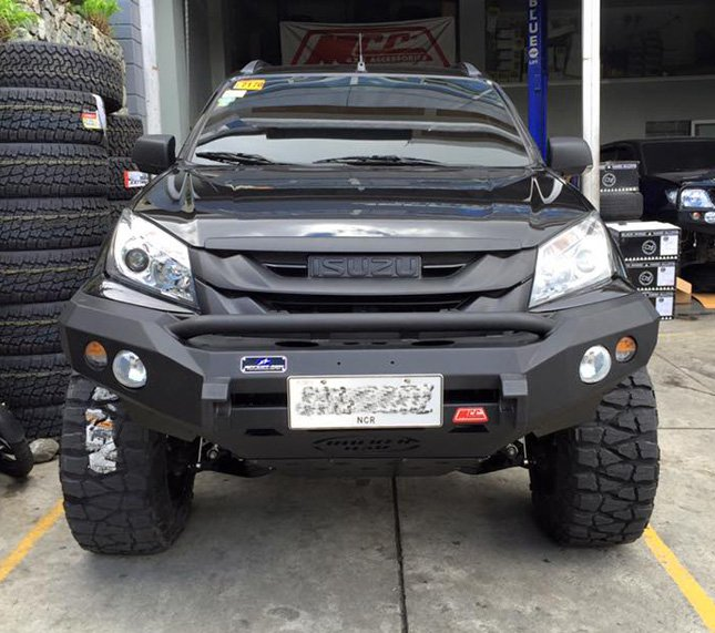 This Isuzu MU-X from Philippines is out there to kill ...