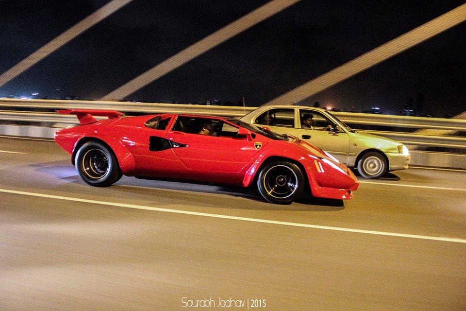 Lamborghini Countach Replica Spotted In Mumbai Motoroids