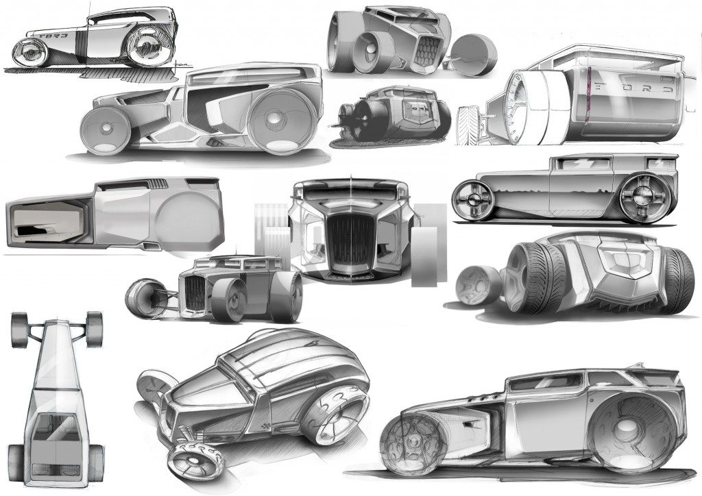 Lamborghini-Rat-Rod Sketches (1)