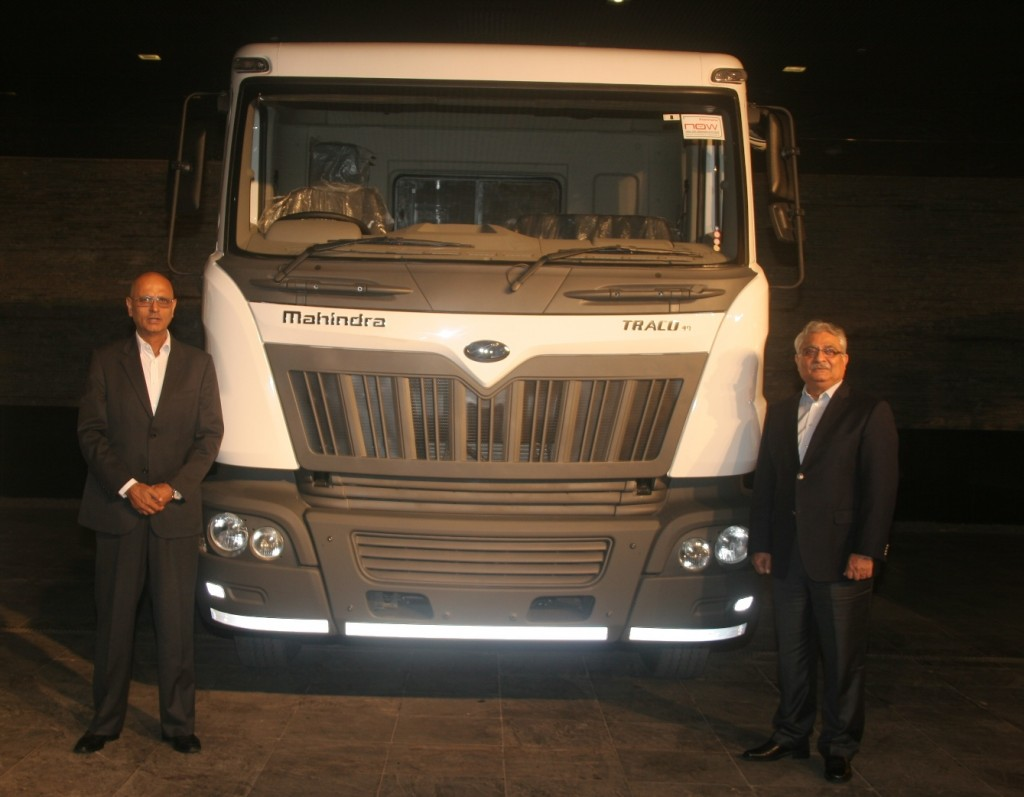 Mahindra Truck and Bus Division rolls out its 15,000th HCV truck from Chakan Plant