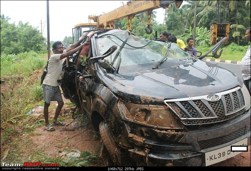 Mahindra Xuv500 Crash Vehicle Rolls Over Side Airbags Don T Deploy