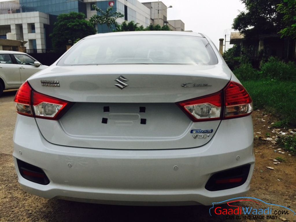 Maruti Ciaz Hybrid Launch On The Cards Arrives In Dealerships