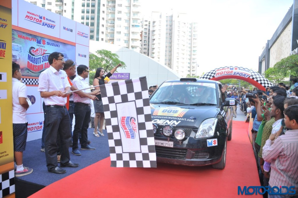 Maruti Suzuki Dakshin Dare - Flag-Off (3)