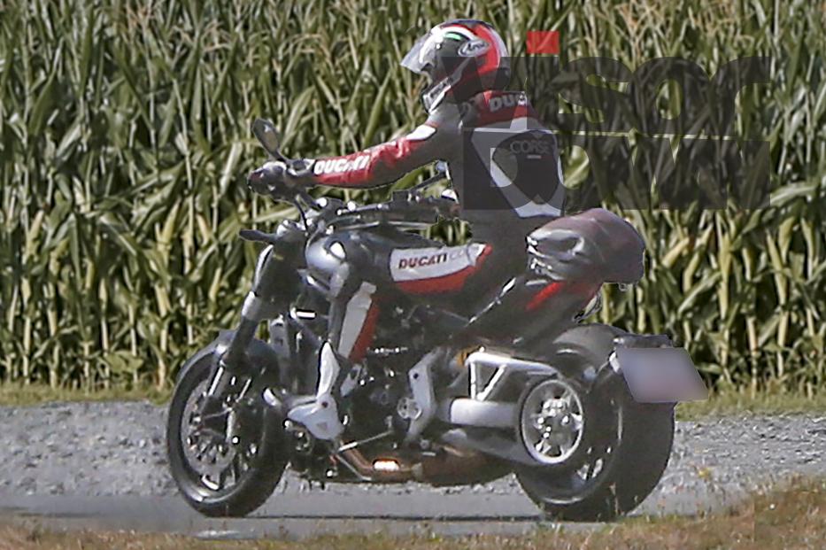 New Ducati Diavel Spied - 2