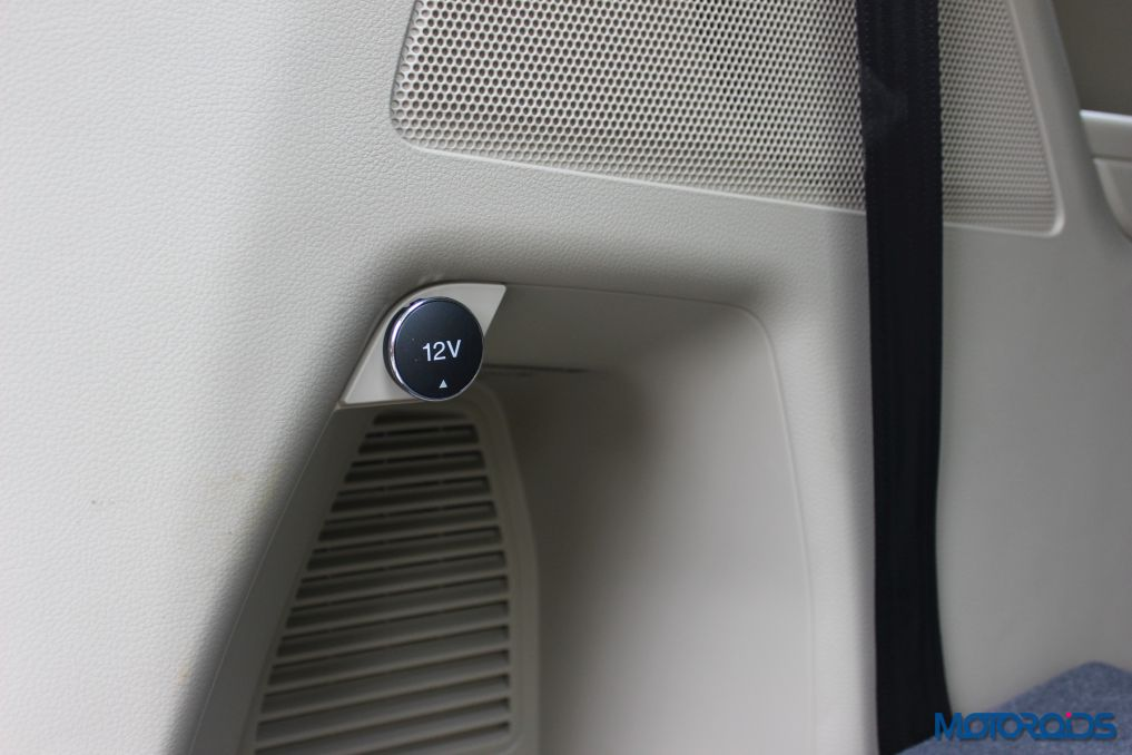 New Ford Endeavour 12V outlets (1)