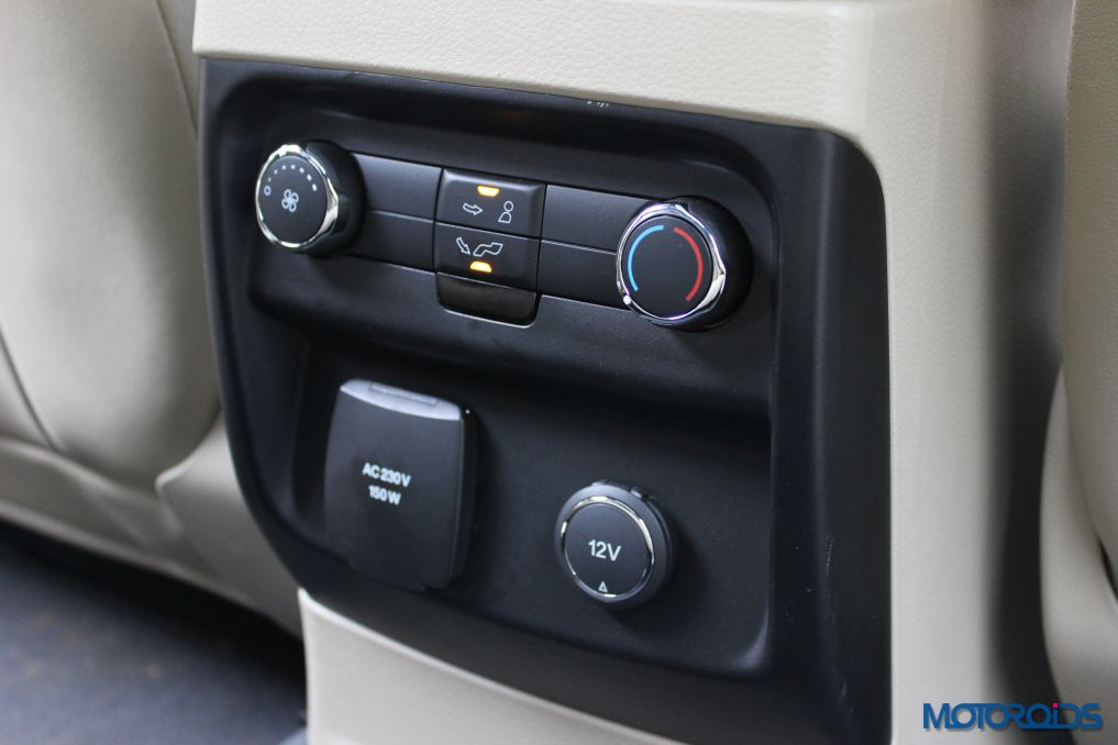 New Ford Endeavour 12V outlets (2)