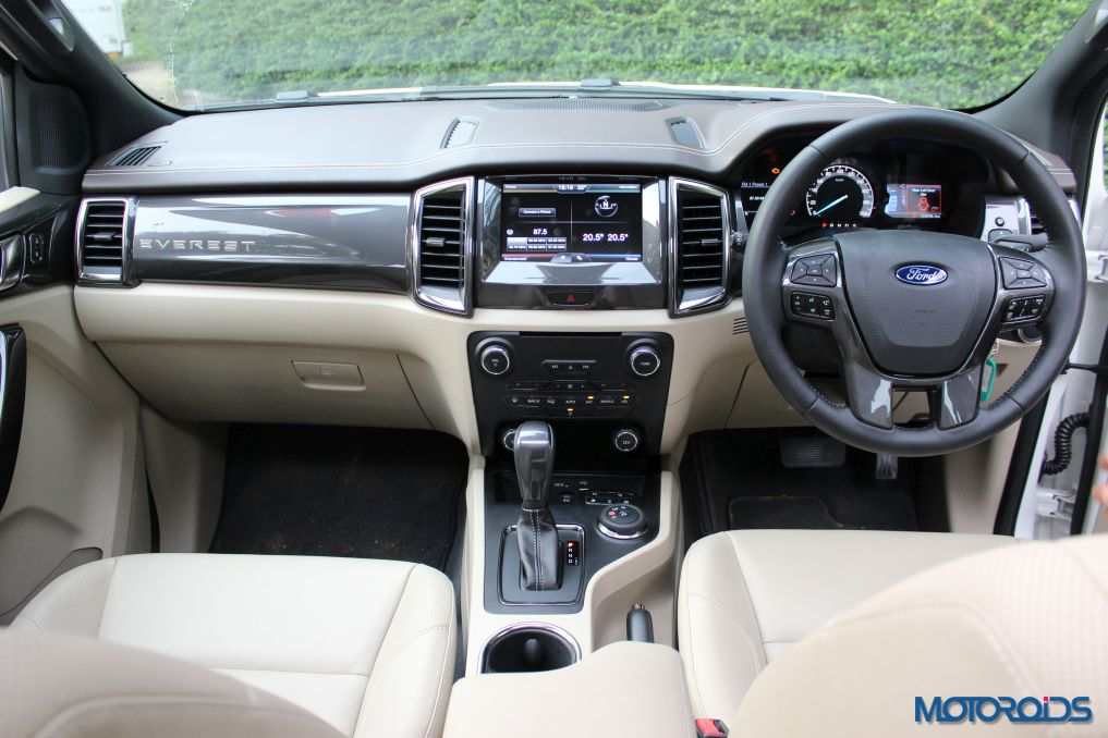 New Ford Endeavour Dashboard (1)