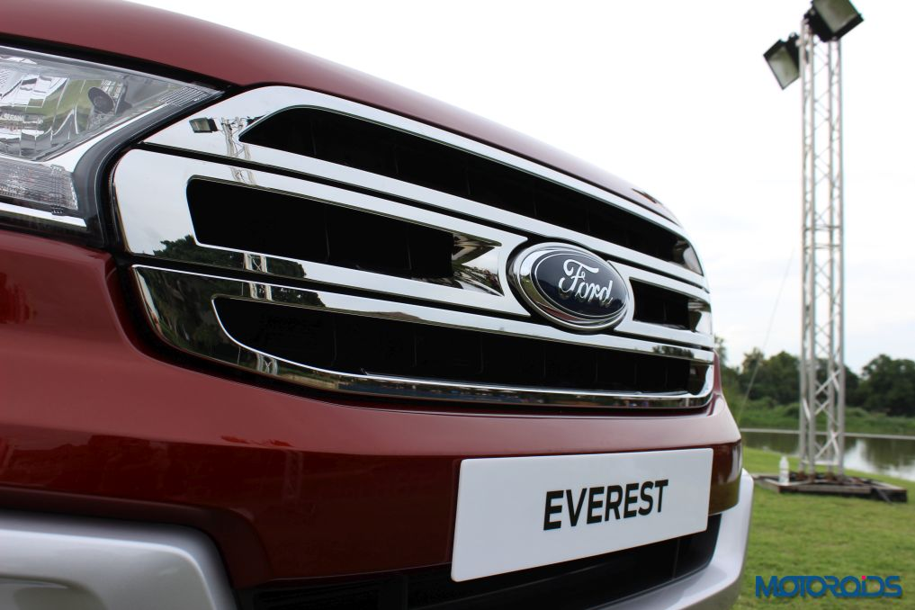 New Ford Endeavour Front Grille (1)