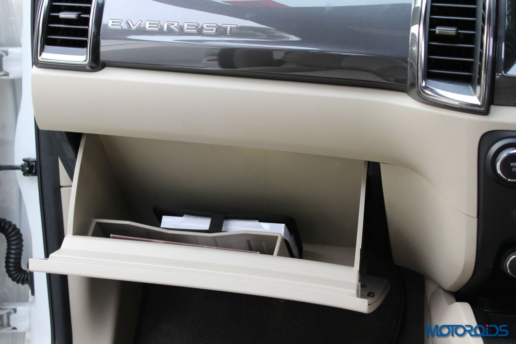 New Ford Endeavour Glove-box