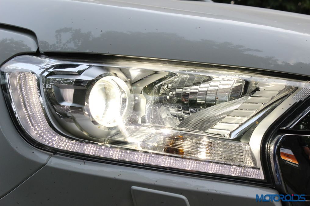 New Ford Endeavour Headlamp