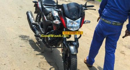 New Hero MotoCorp Hunk Facelift Spied - 1