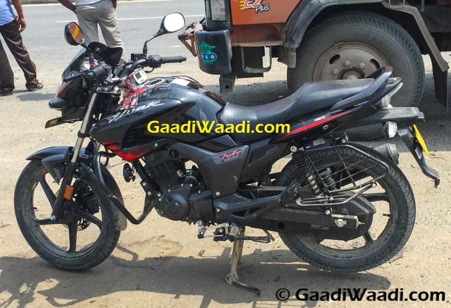 New Hero MotoCorp Hunk Facelift Spied - 3