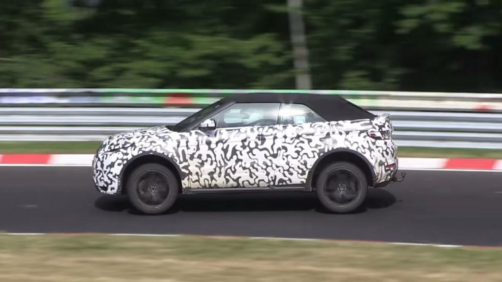 Range Rover Evoque Cabriolet Spied at Nurburgring - 4