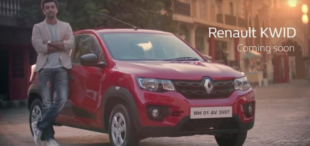 Renault Kwid Ranbir Kapoor