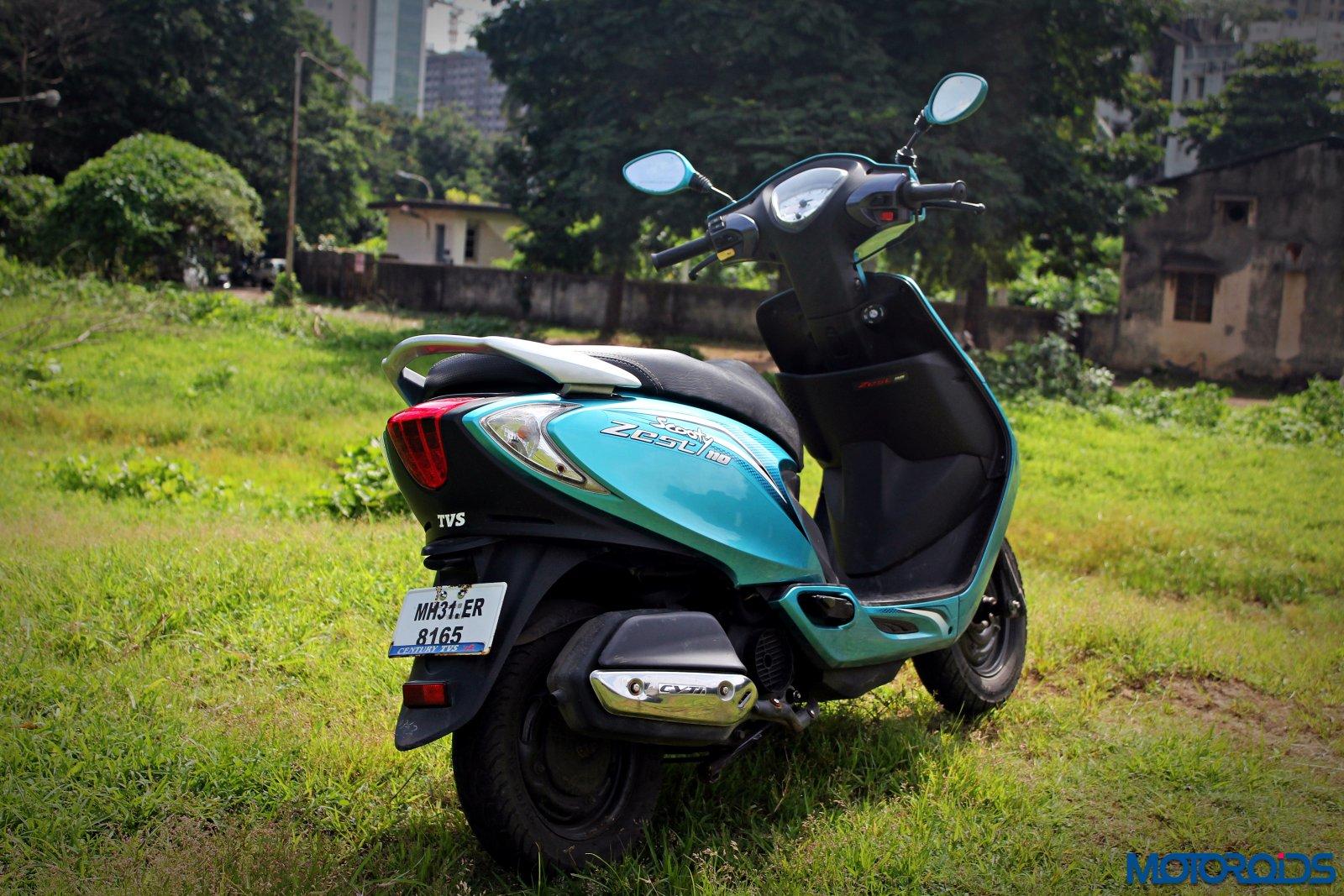 TVS Scooty Zest 110 rear (1)