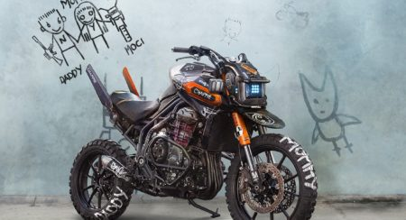 Triumph Tiger Explorer Chappie