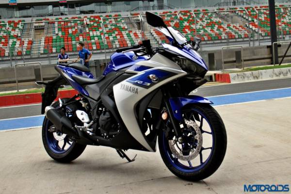 Yamaha YZF-R3 First Ride Review - Static Shots At BIC (3)