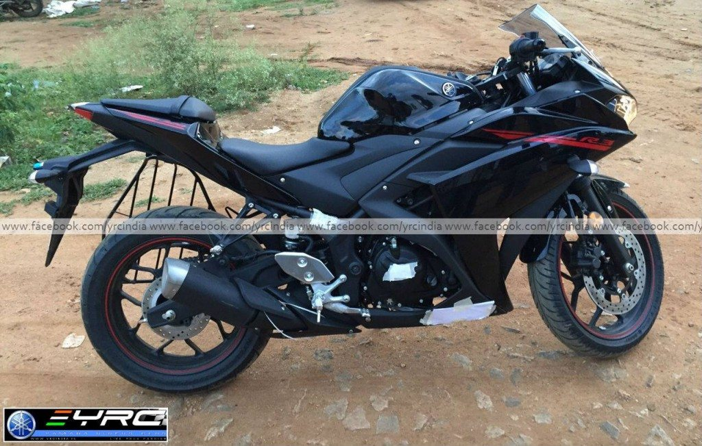 Yamaha YZF-R3 Spied before launch - 3