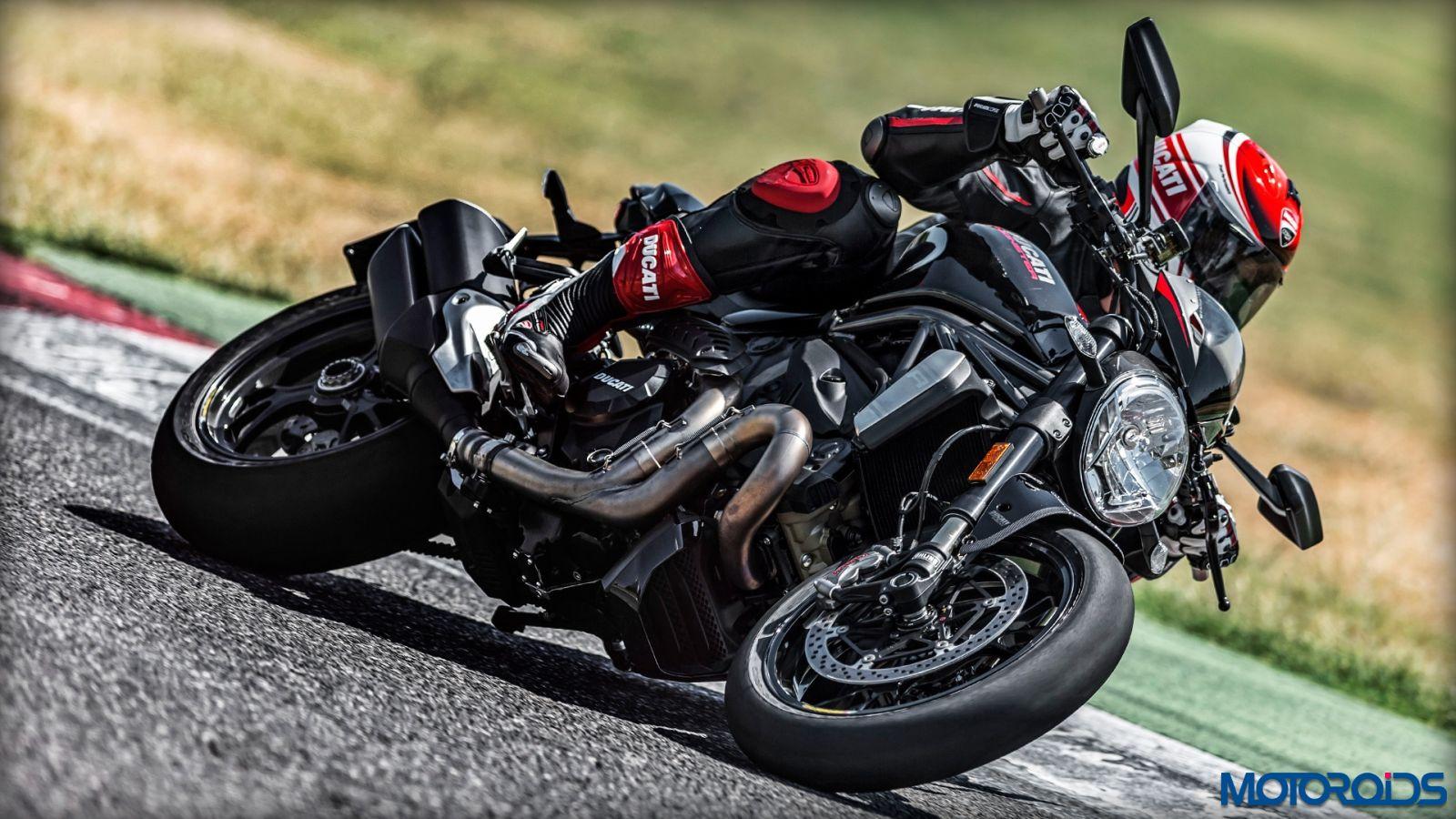 Ducati Monster Front