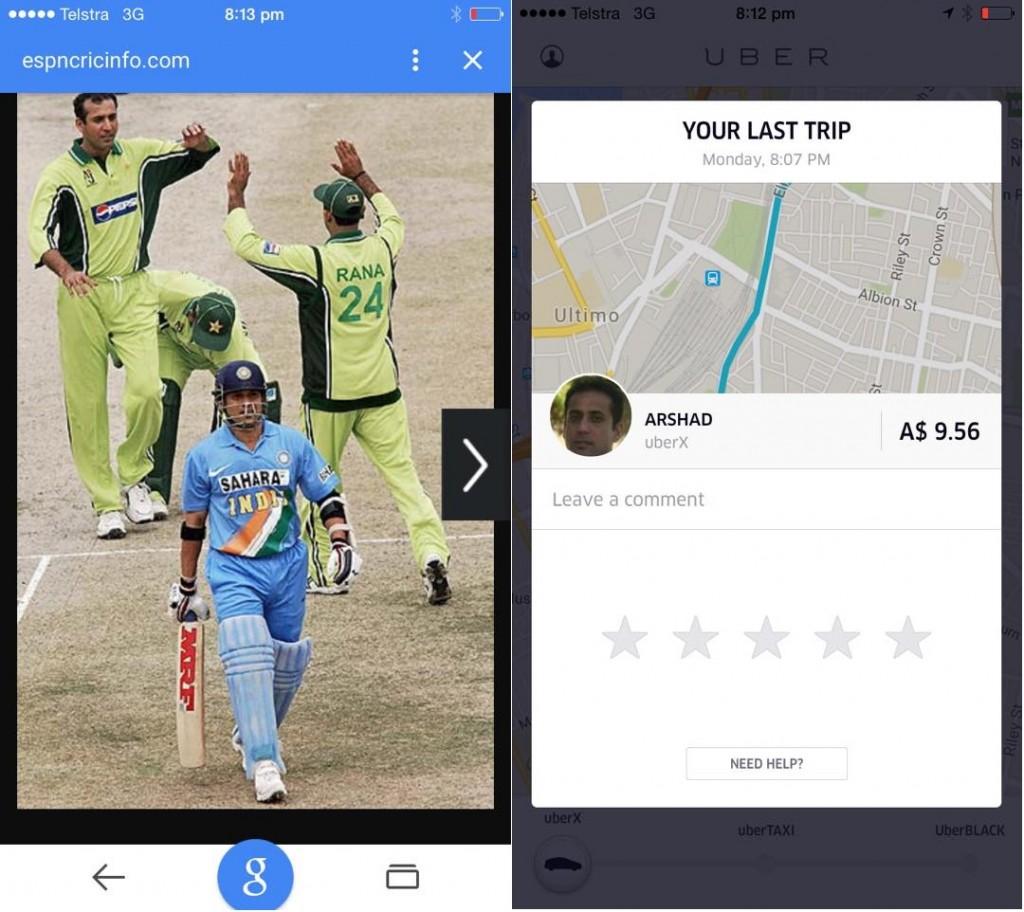 Arshad Khan - Pakistani Cricketer Turns Uber Cab Driver - Facebook Post