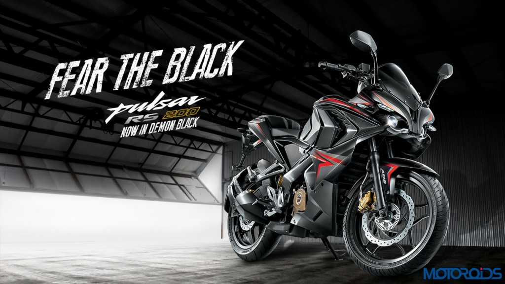 Bajaj Pulsar RS200 Demon Black (1)