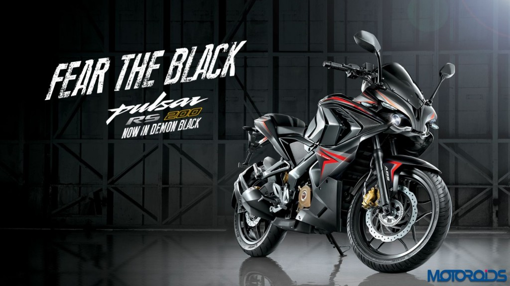 Bajaj Pulsar RS200 Demon Black (2)