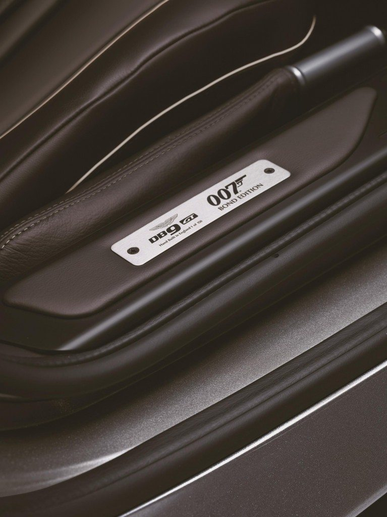 DB9 GT Bond Edition Sill Plaque