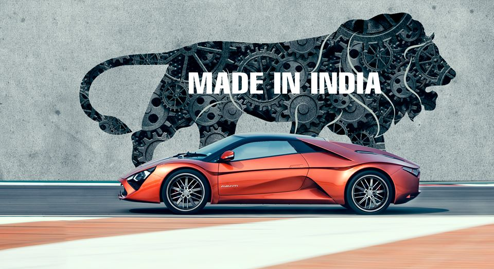 Indian Made Sports Car