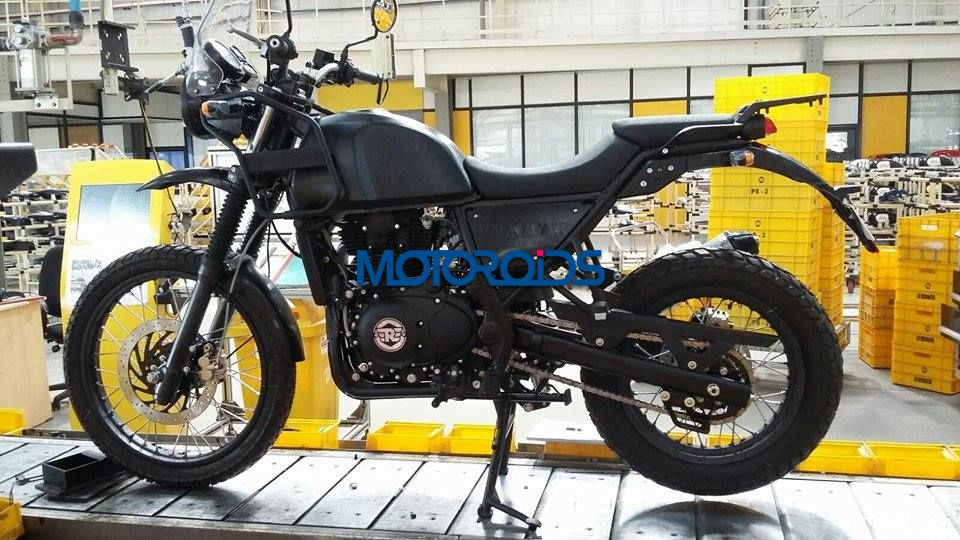 EXCLUSIVE - Royal Enfield Himalayan Spied on Production Line - 1 (3)