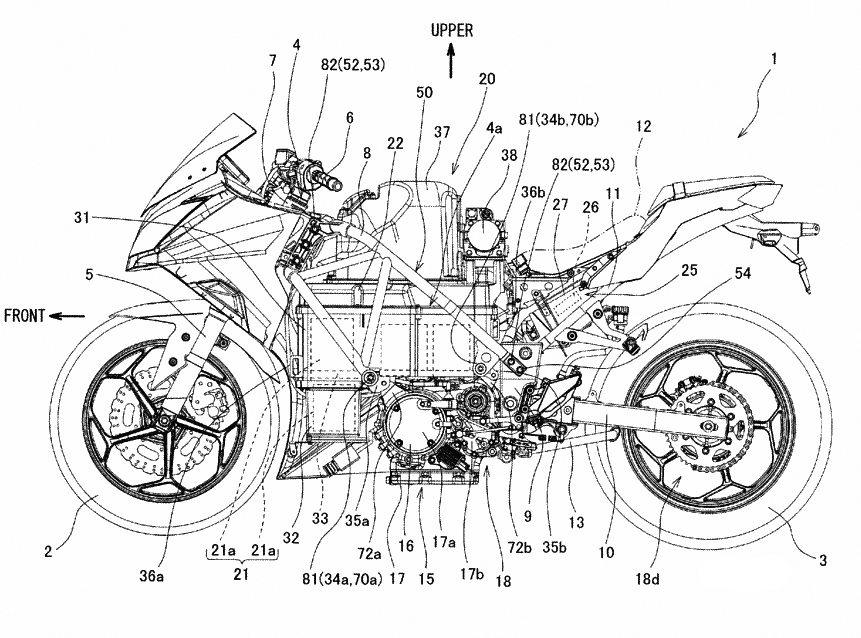 Electric Kawasaki Ninja - Patents - 1