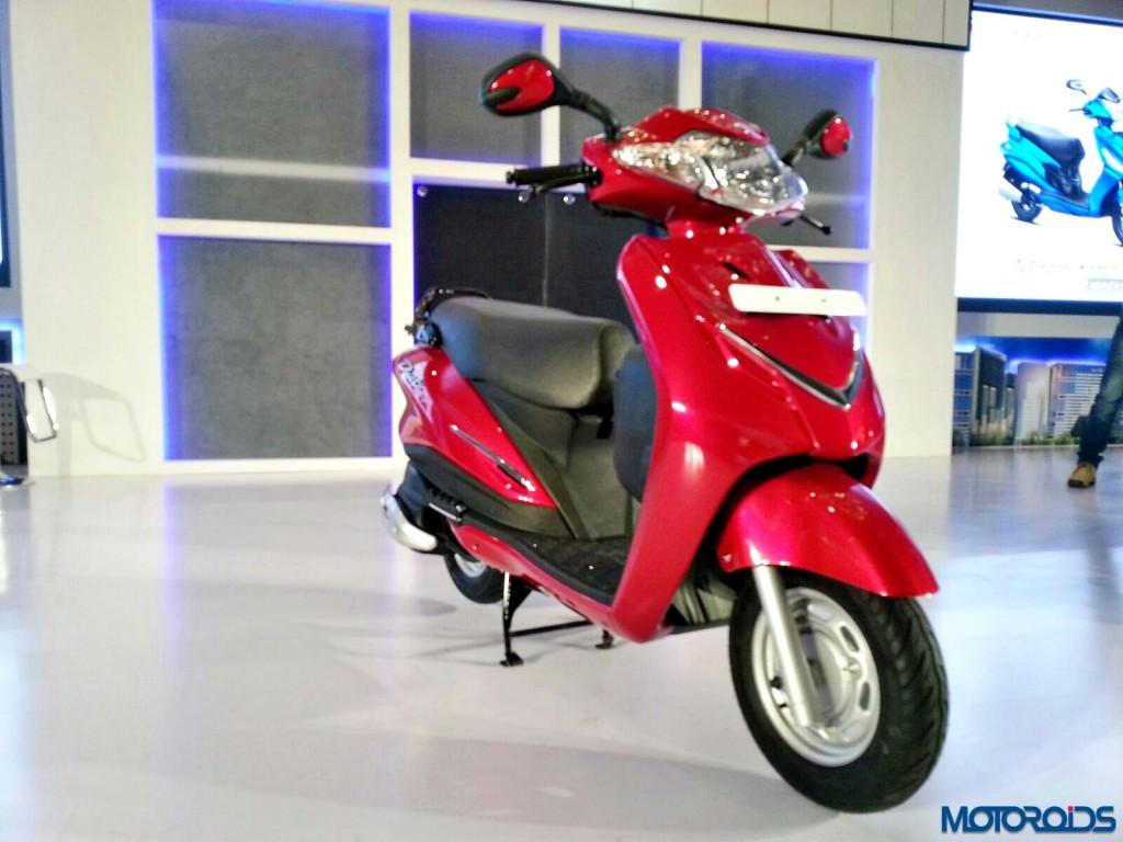 Hero MotoCorp Duet India Unveil (11)