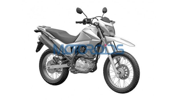 Honda NXR 160 Bros Patent - Watermarked