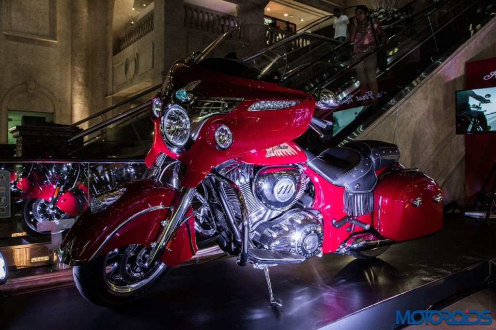 Indian Motorcycle Displayed at Art Bengaluru - Indian Chieftain