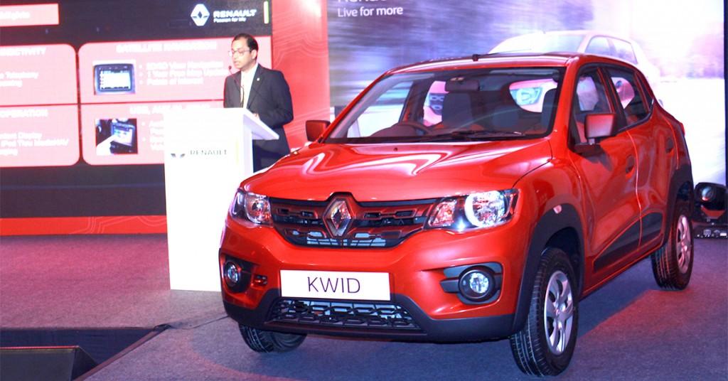 KWID India Launch