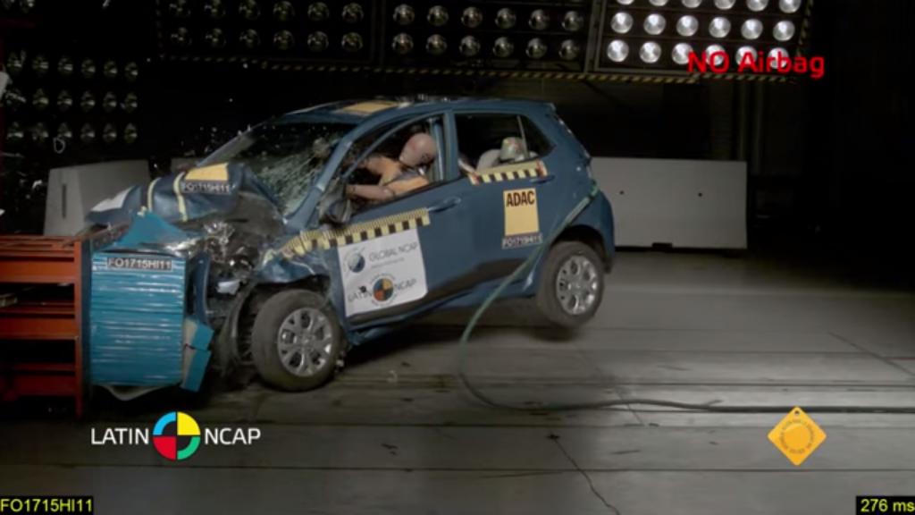 Latin NCAP Hyundai Grand i10 (2)