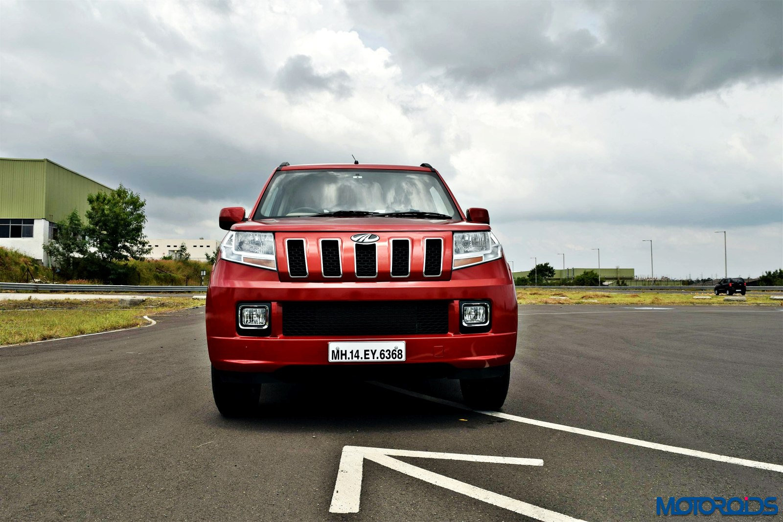 d0611a514 Mahindra TUV 300 Review  Tough Little Guy
