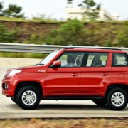 Mahindra TUV300 RED action 3 180x180 Mahindra TUV300 with 100 bhp mHawk100 engine to launch on May 12
